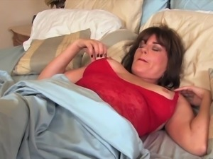 Brunette mature is used by black dude as sex toy