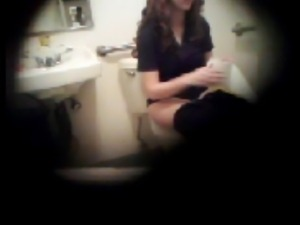 party toilet hidden cam