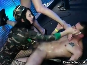 Horny hot whores go crazy getting their part3