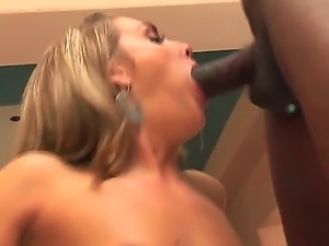 Brianna Love,Darryl Hanah,Jean-Claude Batiste and Jon Jon in interracial orgy