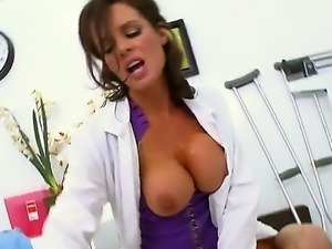 Ramon meets one of the hottest doctors in the world! She is experienced...