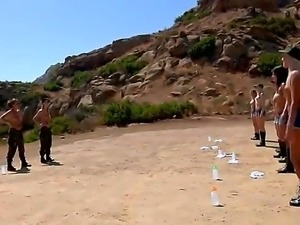 Boot camp with marvelous babes Breanne Benson, Charlie Laine, Jayden Cole,...