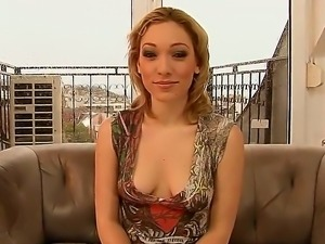Blue Angel teaching perspective girl Lily LaBeau how to use this avant-guarde...