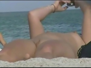 TROC Loves Spying Pussies on Beach 4