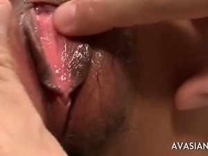 Petite Hairy Asian Slut Gets Fucked Doggy Style