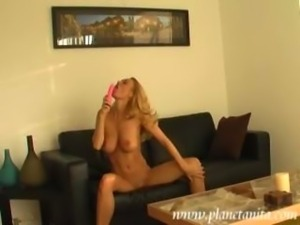 Anita Dark - Black couch