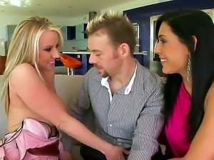 This man is really lucky to met so horny and stunning chicks as Carolyn Reese...