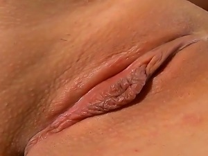 Nasty babe Rosee shows her sexy body and penetrates her pussy with fingers