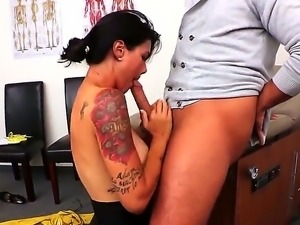 Brunette with big tits Dana Vespoli loves to fuck and have her cunt ravaged...