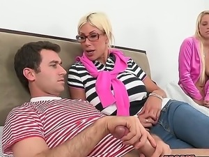 James Dean,Marc Medoff,Puma Swede and Vanessa Cage are horny and ready for fuck
