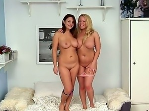 Dominica and Kate Knox are having intense pleasure stimusexy one another in...
