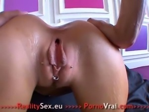 Nicky French girl loves anal sex