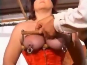 Bizarre chubby granny extreme pussy torture and huge anal toys