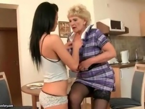 The best of Old Young Lesbian Love