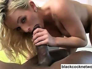 Beautiful Emily Austin rides Mandingo