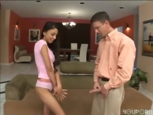 Perverted coach suduces sexy young cheerleader. (alexis Love) free