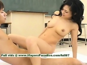Sora Aoi hot girl sexy japanese student gets a hard fucking
