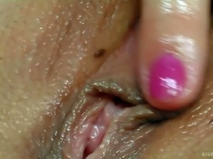 PornSharing.com hot video : Suzie loves gigantic dildos. She shows her...