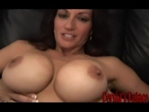 Mature babe Persia fucks younger guy.