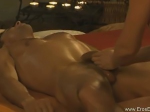 Hot exotic penis massage