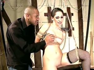 Man is going to have unforgettable banging with enslaved bitch Jesika Gold....