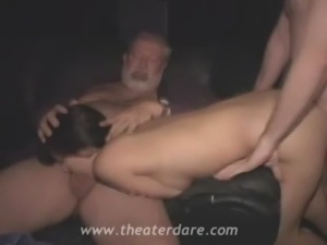 Brunette slut fucked by random strangers free