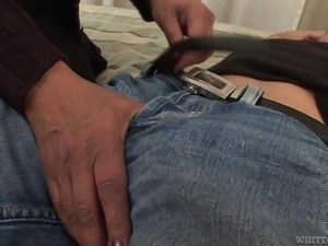 granny unbuckles a guy for his cock @ i wanna cum inside your grandma #06