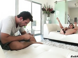 Katie St. Ives spends her sexual energy with Manuel Ferraras hard ram rod in...