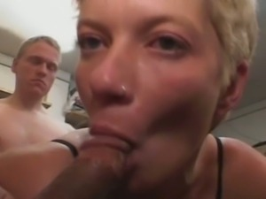 Amateur gf anal gangbang and cum eating