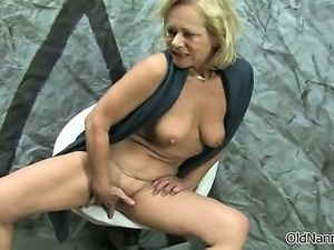 Dirty mature whore goes crazy part4