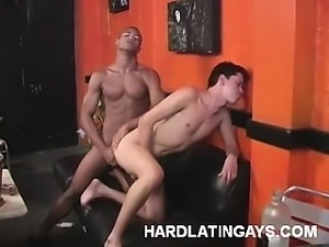 Muscled Latinos Doing Anal