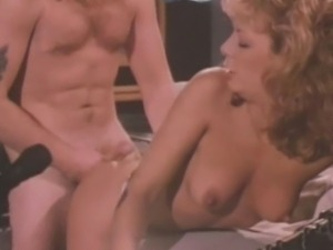 Karen Summer struts into the radio DJ booth and immediately grabs his cock,...