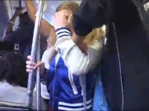 White girls groped and fucked on public bus free