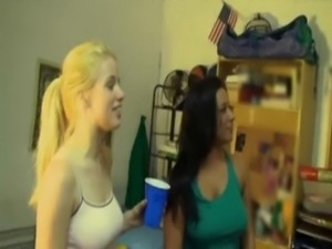 Real College Orgy free