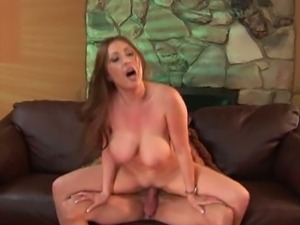 Busty asian beauty kianna dior rides white cock.