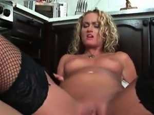 Nasty blonde slut goes crazy part4