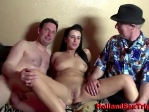 Amateur euro hooker fucking and licking for paying sex tourist