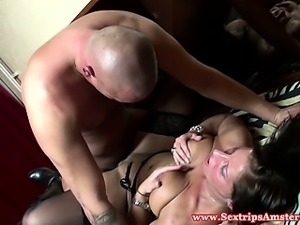 Real dutch hooker swallows his spunk