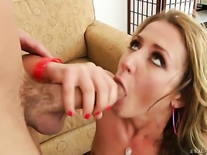 Will Powers plays hide the salamy with Sheena Shaw in anal sex action before...