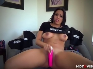The busty, voracious, juicy butt Latina, Luna Star, gives a special...