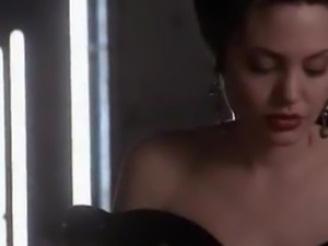 Angelina Jolie compilation of without a stitch on pont of times