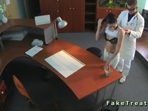Tattooed back patient fucked in hospital