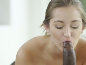 Dani Daniels first big black dick experience