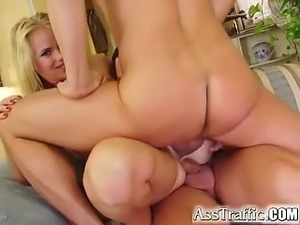 We got cute blonde Sandy Style for an all anal scene. Watch