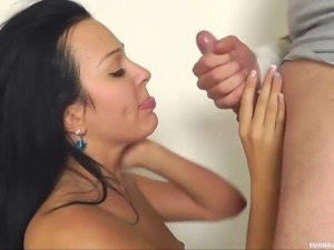 euro slut gets pounded hard from behind