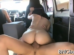 Naughty babe is driving hunk crazy with her naughty cock sucking
