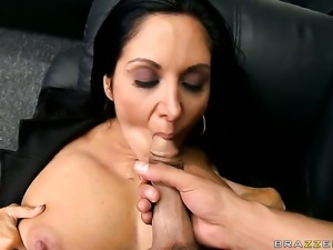 With big tits cant wait to be poked by her horny Rocco Reed