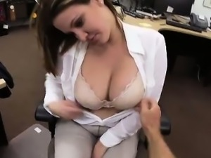 Blonde amateur tits groped