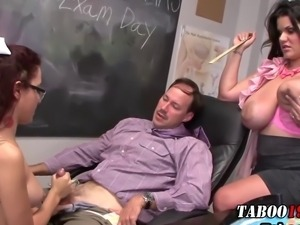 teacher cock tug and tease pleasure in high def