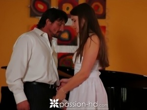HD - Passion-HD Student Teal Conrad sucks off her music teacher